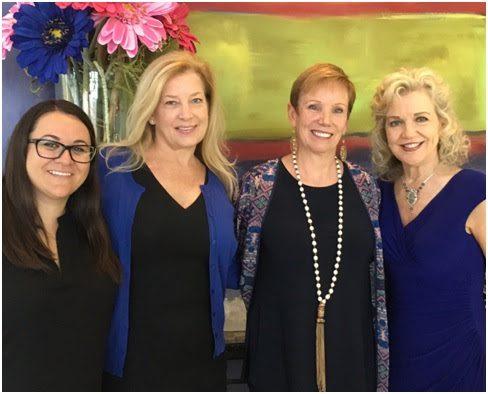 Pictured (L-R): Dawn Delvo, Black River Entertainment; Edie Emery; Pat Shea, President & CEO, YWCA Nashville; Lisa Harless, Regions Bank. Photo: Lyndie Wenner/SOURCE.