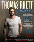 Thomas Rhett Plans Acoustic Benefit Concert For Oct. 4