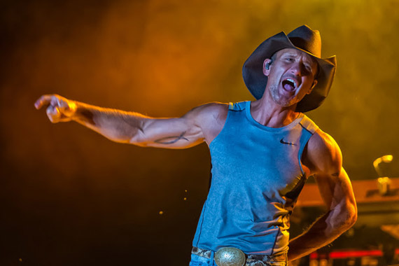 Tim McGraw. Photo: Phierce Photo