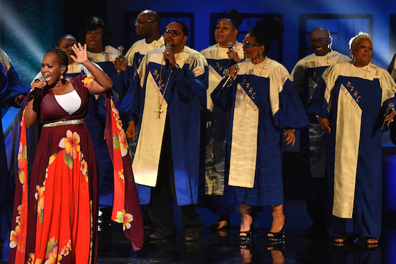 Tina Campbell performs during the NMAAM 2016 Black Music Honors. Photo: Jason Davis/Getty Images for National Museum of African American Music