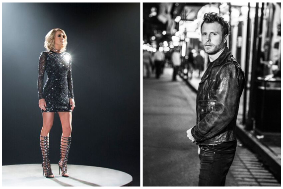 Dierks Bentley Carrie Underwood Are Ready For Football