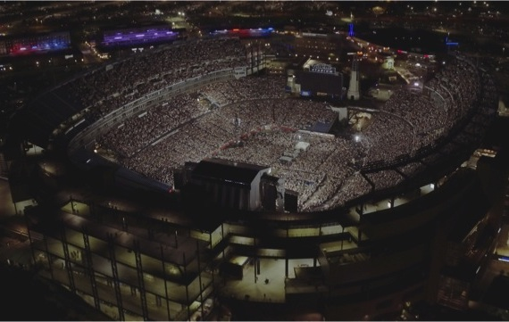 Gillette Stadium hosts Kenny Chesney's 2016 Spread the Love Tour. Photo: Shaun Silva