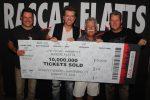Rascal Flatts Achieve 10 Million Tickets Sold