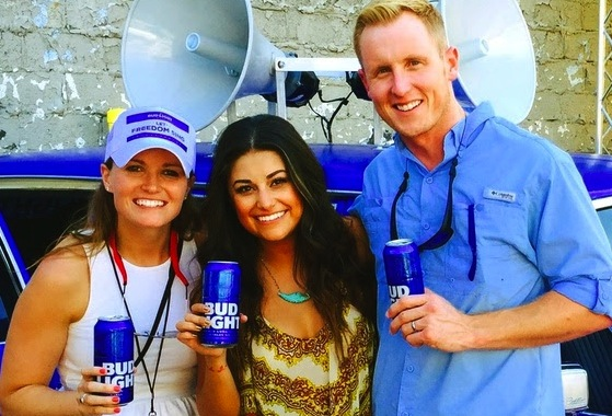 Colleen Kelly, Regional Marketing Director, Anheuser-Busch; Micaela and Pete Olson, Master Craft Management.