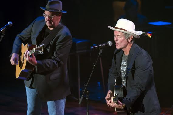 Pictured (L-R): Vince Gill, Rodney Crowell. Photos: Steve Lowry/Ryman Archives
