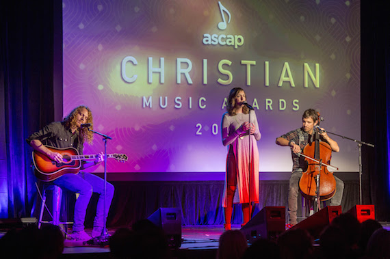 "Francesca Battistelli performs ""Holy Spirit."" Photo: Ed Rode/ASCAP"