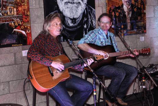 Jim Lauderdale and Ray Stephenson. Photo: Jeff Fasano