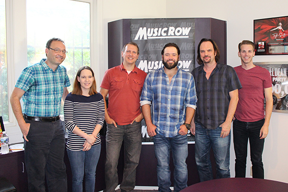 Mike Ryan with MusicRow staff. Photo: Molly Hannula