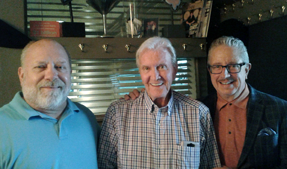 Pictured (L-R): Randy Rayburn, Joe Johnson, David Bennett