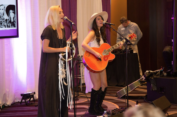 Sisterhood performs at the 2016 Radio Show in Nashville.