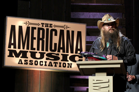 Chris Stapleton accept Artist of the Year. Photo: Getty Images