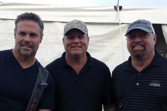 Troy Gentry, John Michael Montgomery, Eddie Montgomery.