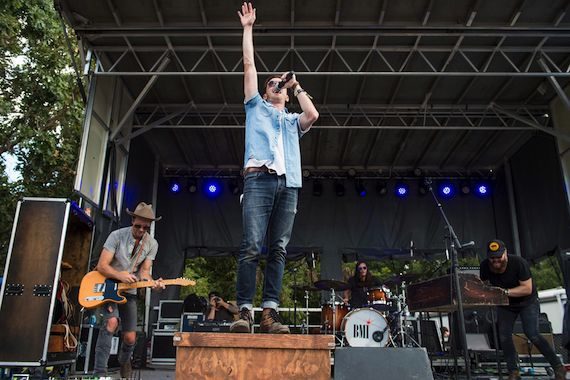 BMI songwriters LANco get the audience moving with their high-energy country songs. The band released an EP in April and has been touring extensively since.