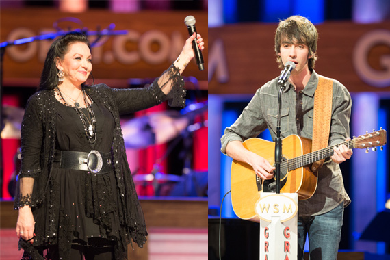 Crystal Gayle, Mo Pitney. Photo: Chris Hollo