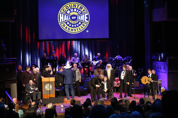 The 2016 Medallion Ceremony at the Country Music Hall of Fame and Museum on Sunday, Oct.17, 2016.