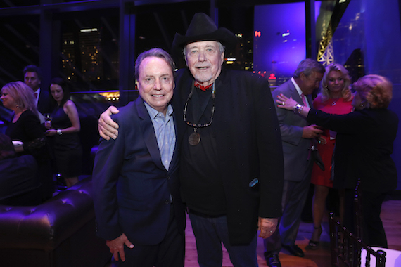 CMA Board member Jody Williams and Hall of Fame member Bobby Bare at the 2016 Medallion Ceremony at the Country Music Hall of Fame and Museum on Sunday, Oct.17, 2016.