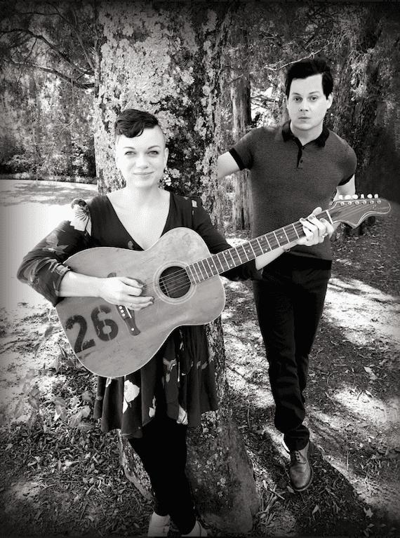 Lillie Mae Rische and Jack White. Photo: Olivia Jean Markel
