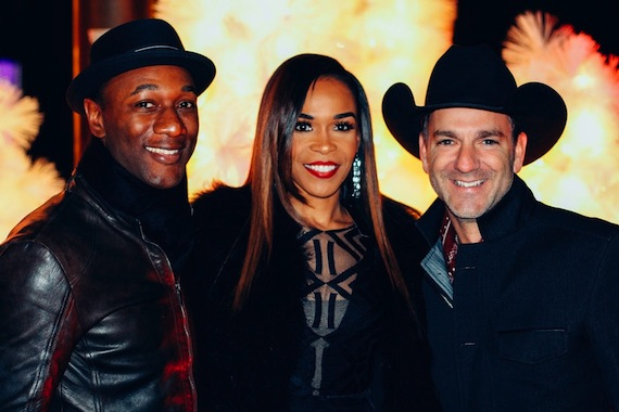 Pictured (L-R): Aloe Blacc, Michelle Williams, and Craig Campbell Photo Credit: Courtesy of Longshot Management