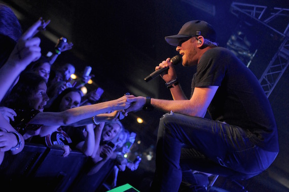 Cole Swindell headlined at the Cotillion Ballroom in Wichita, KS. Photo: Nate Mahy