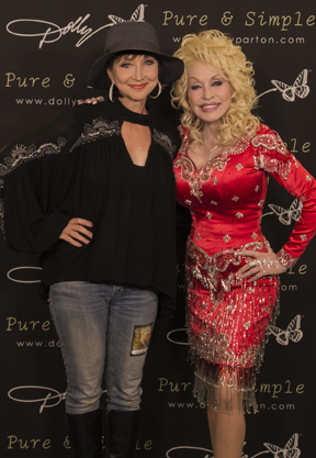 Pam Tillis and Dolly Parton