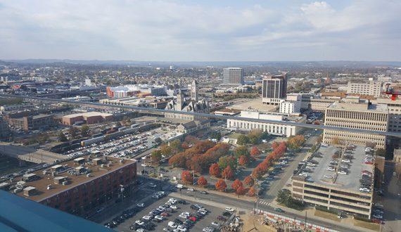 Nashville Westin's Northwest view. Photo: Bev Moser/Moments By Moser