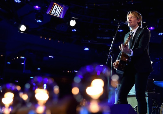 Keith Urban performs onstage at the 64th Annual BMI Country Awards. Photo: John Shearer/Getty Images for BMI