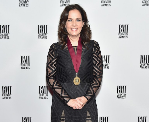 Singer-songwriter Lori McKenna attends the 64th Annual BMI Country awards. Photo: Michael Loccisano/Getty Images for BMI
