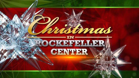 "CHRISTMAS IN ROCKEFELLER CENTER -- Pictured: ""Christmas in Rockefeller Center"" Logo -- (Photo by: NBCUniversal)"