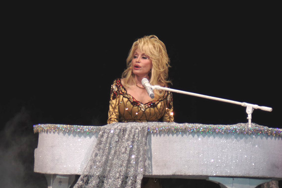Dolly Parton performs at the Von Braun Center Arena in Huntsville, Alabama, November 16, 2016. Photo: Moments By Moser Photography