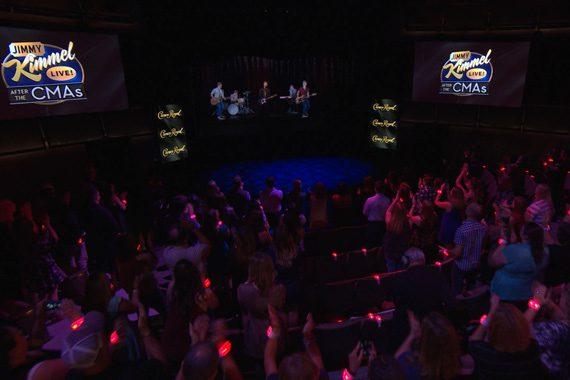 Hunter Hayes hologram at Nashville's CMA Theater. Photo: ABC