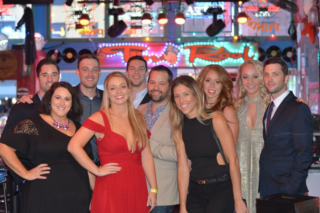 The Crew (L-R): Kevin Lane, Kari Barnhart, Lee Krabel, Stephanie Davenport, Andrew Cohen, Matt Turner, Penny Gattis, Hannah Williams, Laurel Kittleson, Kenley Flynn
