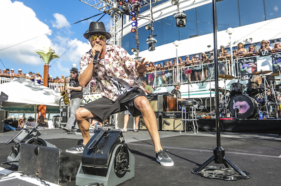 Kid Rock performs on his cruise during 2016. Photo: Will Byington