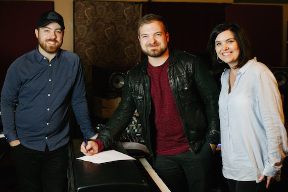 Pictured (L-R): Seth Mosley, Riley Friesen, Stacey Wilbur. Photo: Celi Mosley