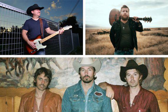 Pictured (clockwise from top left): Ben McPeak, Dylan Jakobsen, Midland