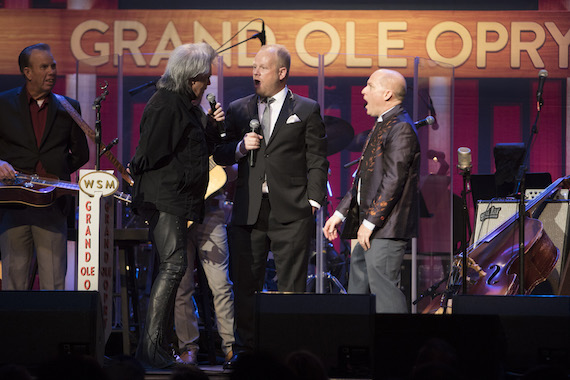 Pictured: Marty Stuart, Dailey & Vincent. Photo: Chris Hollo for the Grand Ole Opry®